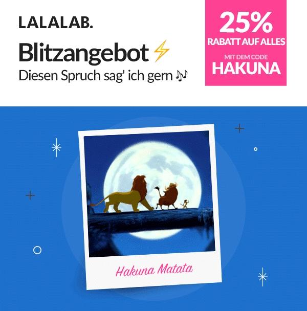 [Lalalab.com] 25% auf Alles ! [Versandkosten: Leider Regulär] Lalalab = Shop für Fotoprodukte