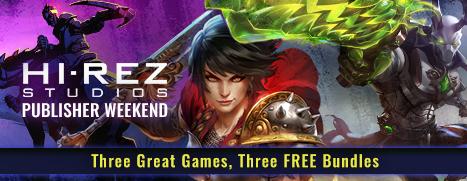 3 Gratis Bundles von Hi-Rez ( für Smite, Paladins, Realm Royal)