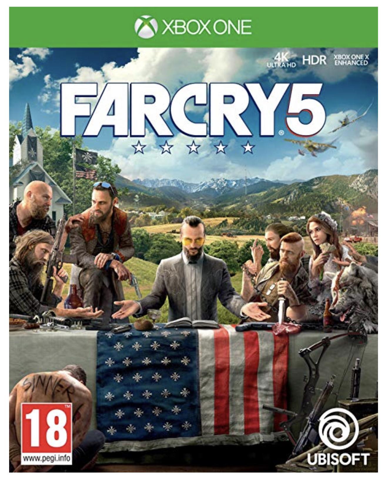 [Amazon UK] Far Cry 5 Xbox One für 27,31€ inkl. Versandkosten