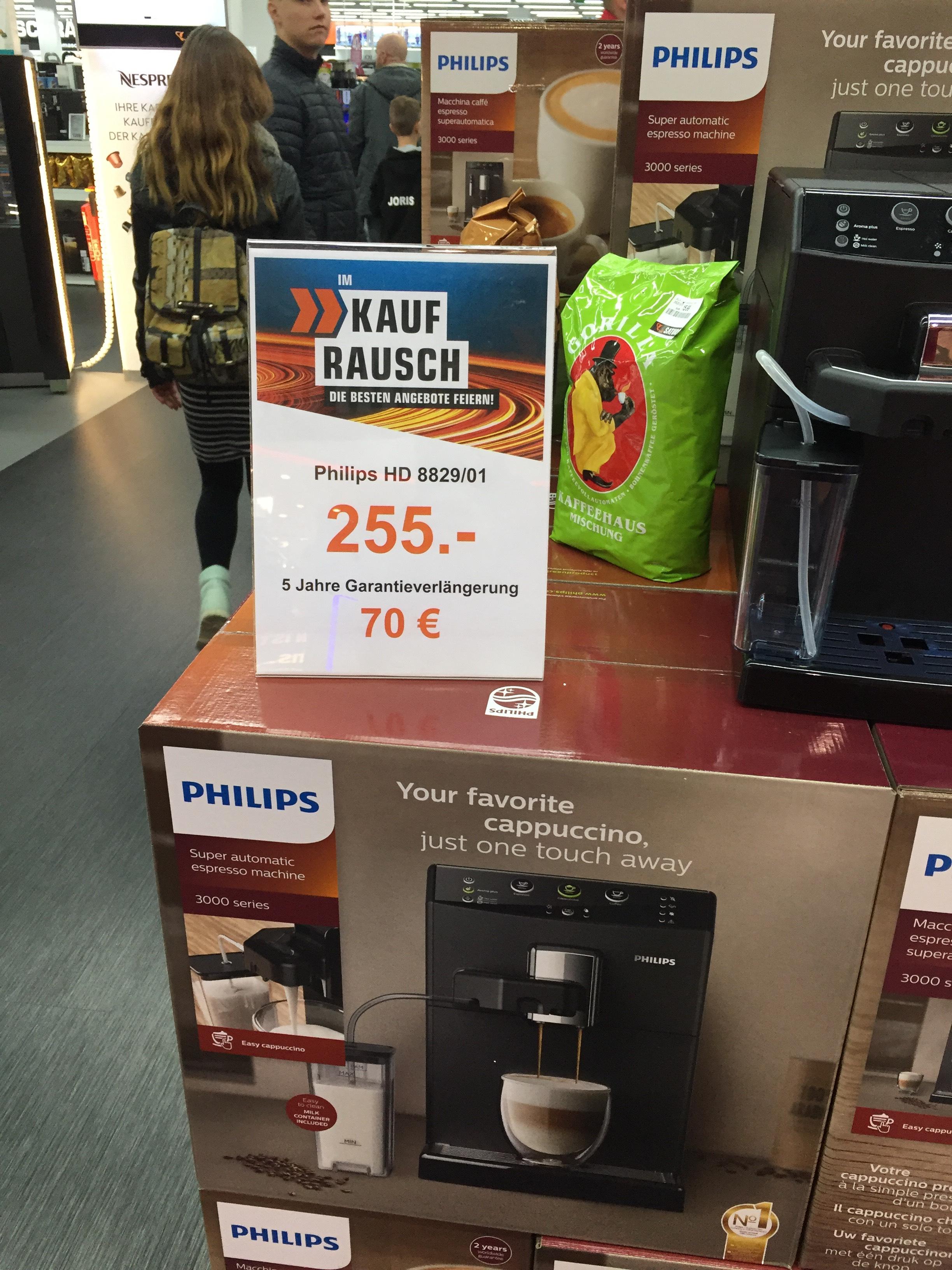 Lokal Saturn Leverkusen | Philips HD8829/01 Kaffeevollautomat