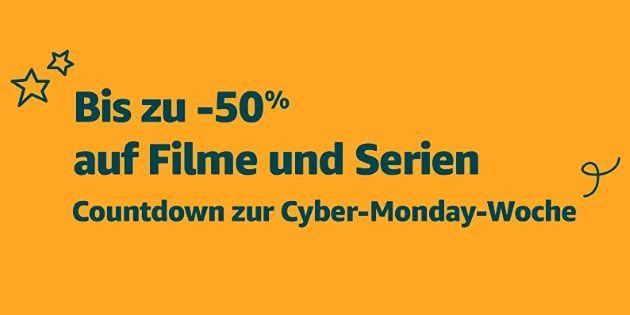 Cyber Monday Woche 2018: Bis zu 50 % Rabatt auf eine riesige Auswahl von Filmen und Serien