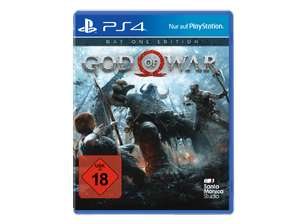God of War Day One Edition (PS4) für 29,99€ [Saturn Online Abholung]