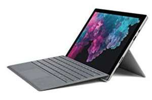 "Microsoft Surface Pro 6 Platinum, 12.5"" 2736x1824 Multi-Touch, i5-8250U, 8GB RAM, 128GB SSD, + Surface Signature Type Cover [Amazon.co.uk]"