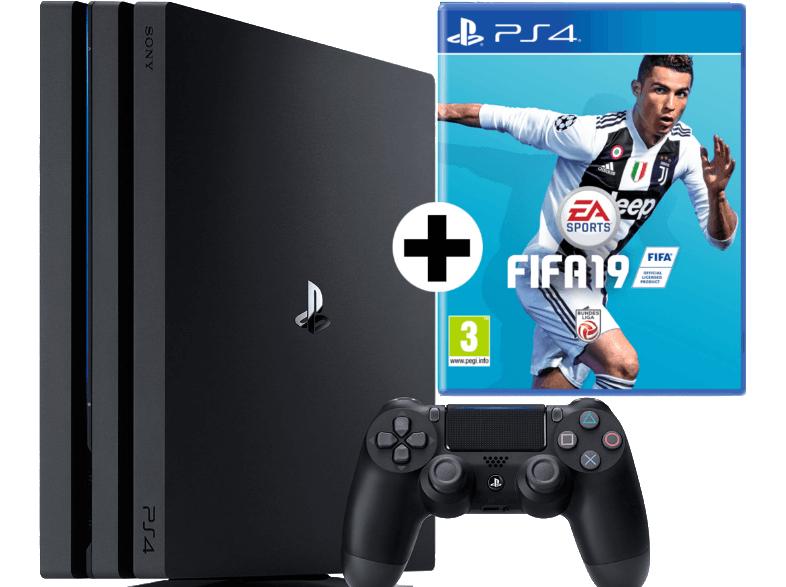 [Mediamarkt Österreich] SONY PS4™Pro 1TB Jet Black EA Sports Fifa 19 Bundle für 353,99€