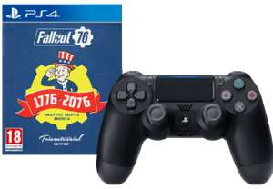 Sony PS4 DualShock 4 Wireless Controller V2 + Fallout 76 Tricentennial Edition für 82€ (Media Markt & Saturn AT)