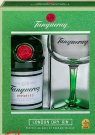 Tanqueray London Dry Gin 47,3 Vol.% - 0,7l mit Gratis Glas bei Kaufland