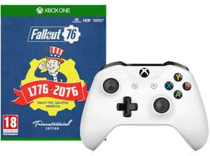 Xbox One Controller + Fallout 76 Tricentennial Edition (Xbox One) für 92€ (Saturn.at)