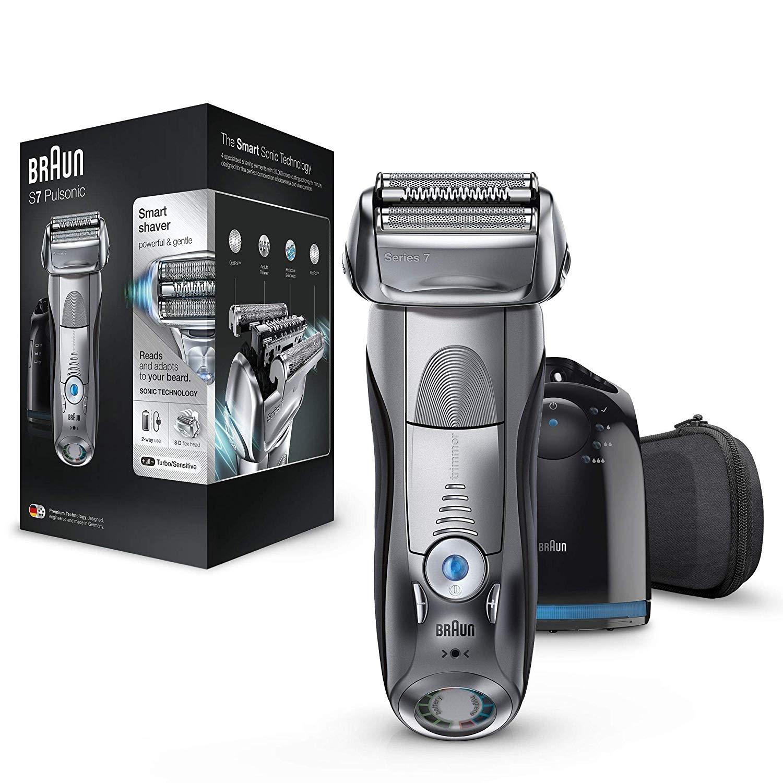 (Amazon) Braun Series 7 7790cc Rasierer, Reinigungsstation, Etui - mit 20€ Cashback für 84,99€ möglich