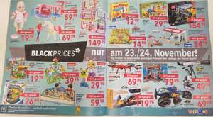 Toysrus Black Friday Prices (Freitag&Samstag)