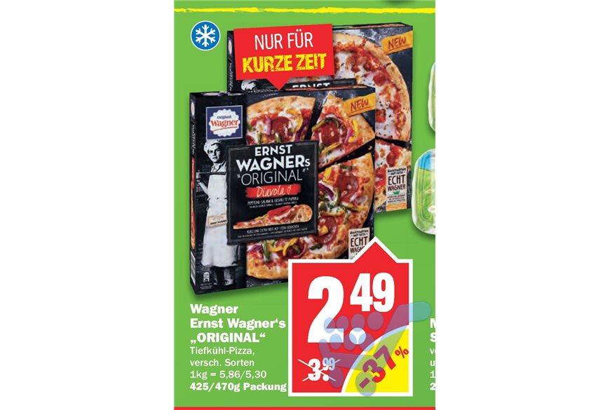 [Ab 22.11. NP Discount/Scondoo] Ernst Wagners Original Pizza mit Cashback für 1,79€