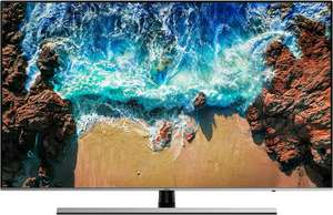 "[Saturn/Amazon] Samsung UE55NU8009 (55"" Ultra HD, VA, 120Hz, Edge-LED, 8bit+FRC, 500 cd/m², HDR10+ & HLG, FreeSync, Tizen 4.0, 4x HDMI 2.0)"