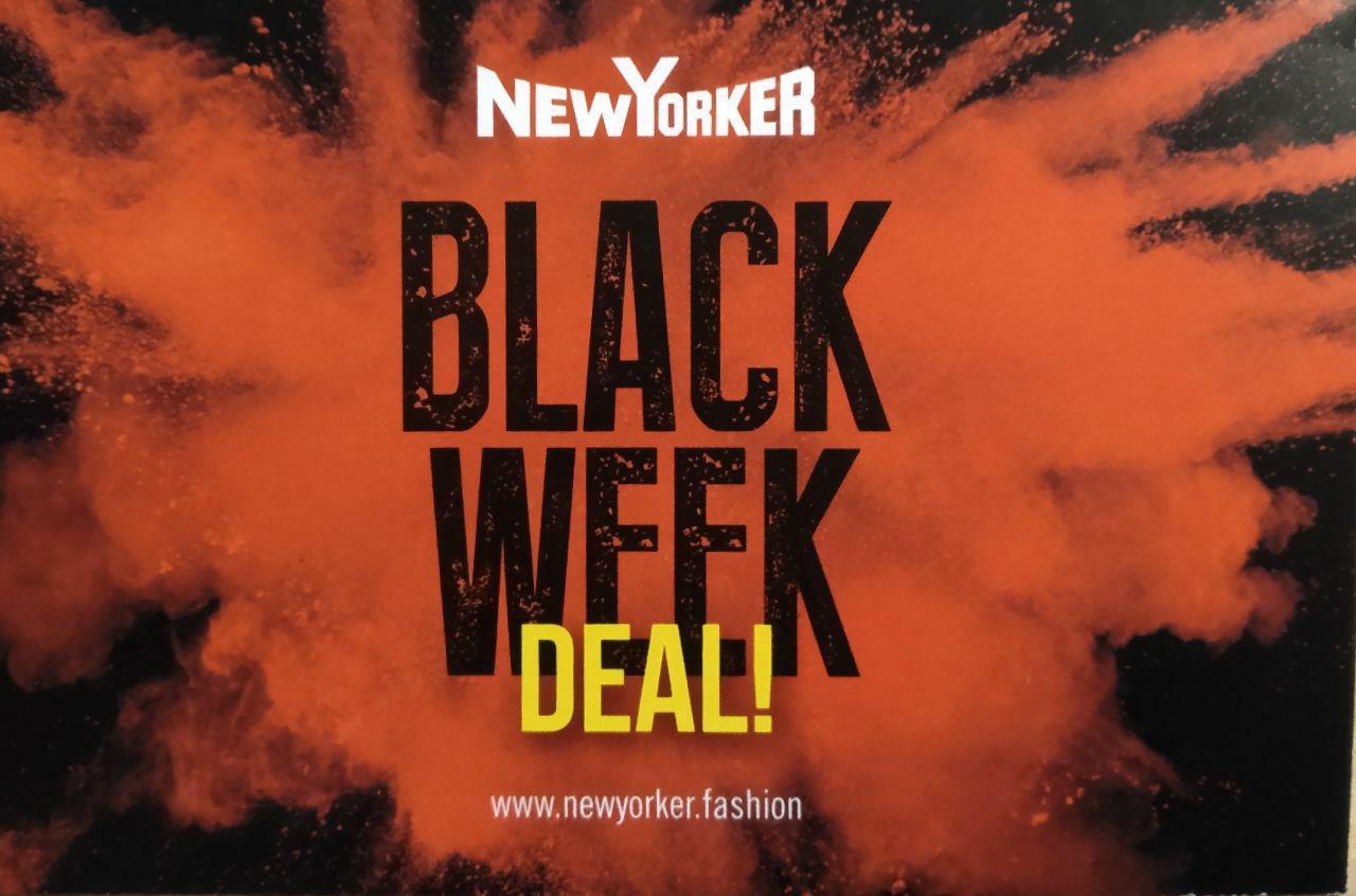 New Yorker Black Friday 20% (ab 50€) bzw 10% (ab 25€) auf den Einkauf außer auf reduzierte Ware (Offline)