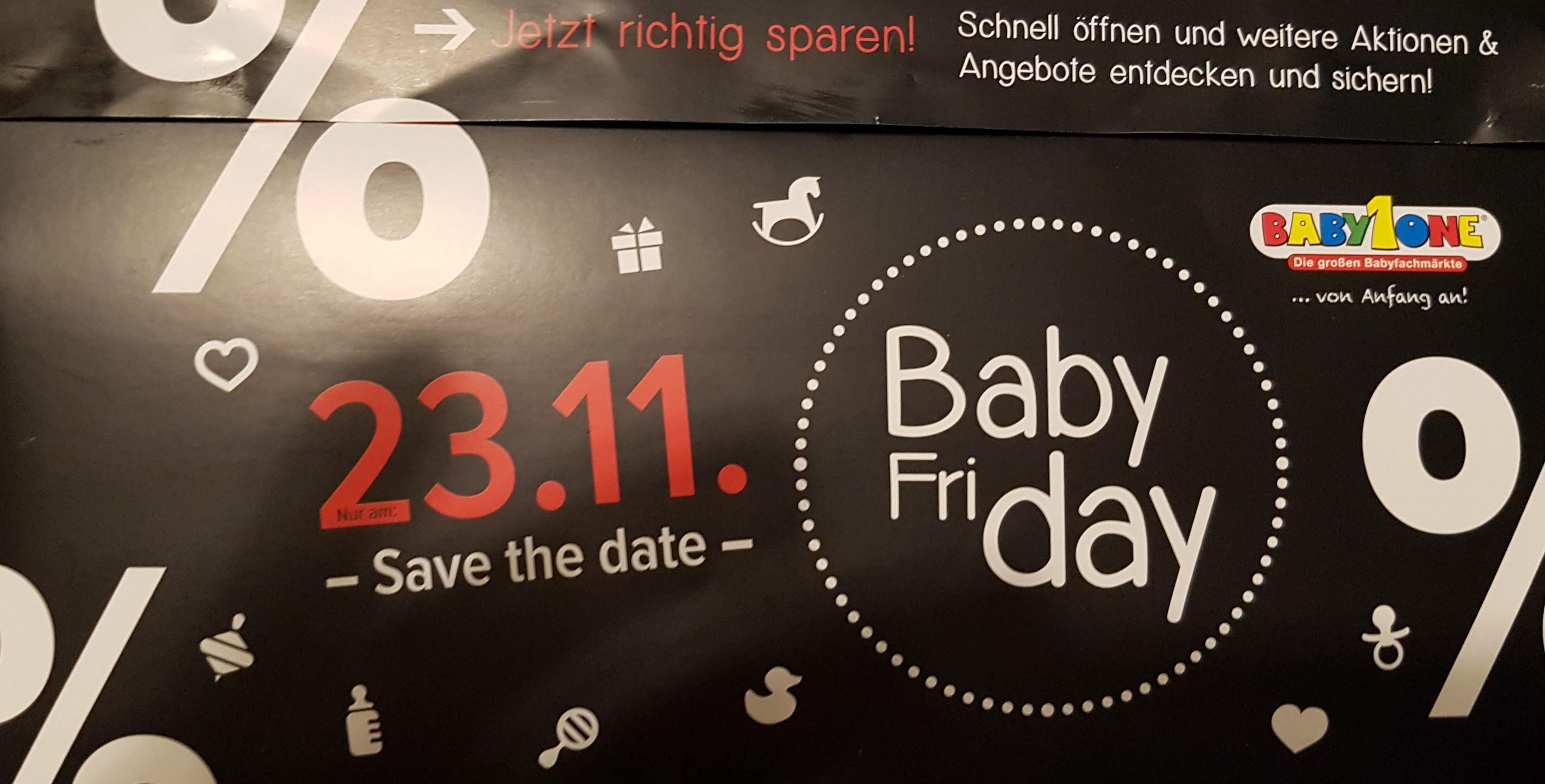 Baby Friday bei Babyone 10% auf Cybex Artikel (außer Platinum) & 3 verschieden *Nimm 3 Zahl 2* Aktionen (Dealpreis Avent Aktion)