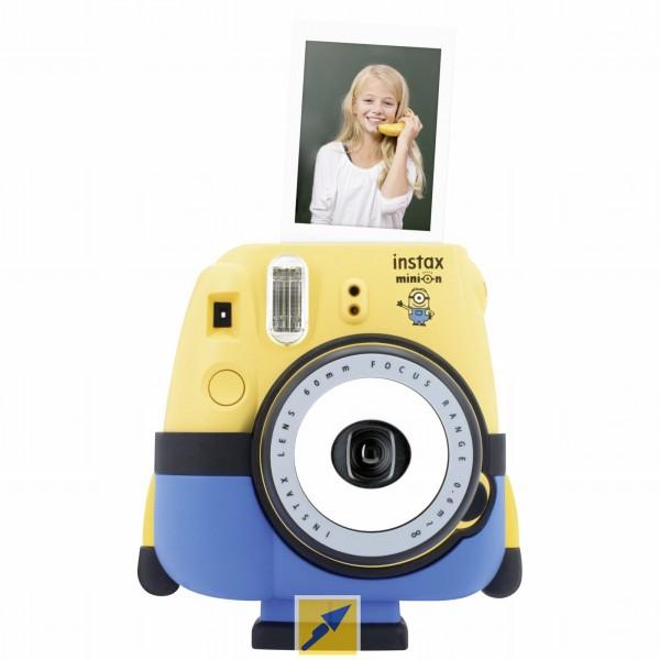 """Fujifilm Sofortbildkamera """"Instax Mini 8 Minion"""" [TECHNIKDIREKT]"""