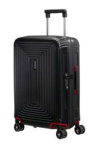 (Amazon)(Kofferexpress24) Samsonite Neopulse Spinner, S (55cm-38L), MATTE BLACK