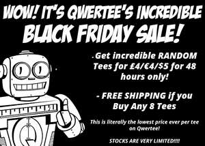 [QWERTEE]Random Black Friday InsaniTEE's