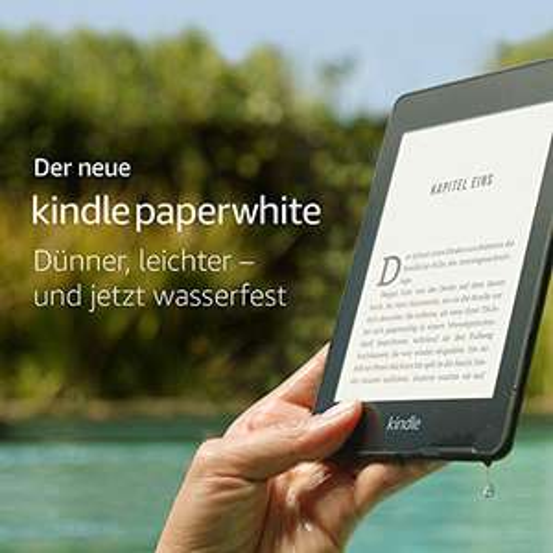 Kindle Paperwhite 2018 Wifi - 8GB / 32GB bei Saturn, MM und Amazon