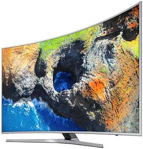 (Amazon)  Samsung MU6509 123 cm (49 Zoll) Curved Fernseher (Ultra HD, HDR, Triple Tuner, Smart TV) [Energieklasse A]