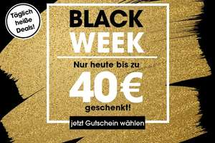 Blackweek bei babymarkt.de 40€ Gutschein ab 320€
