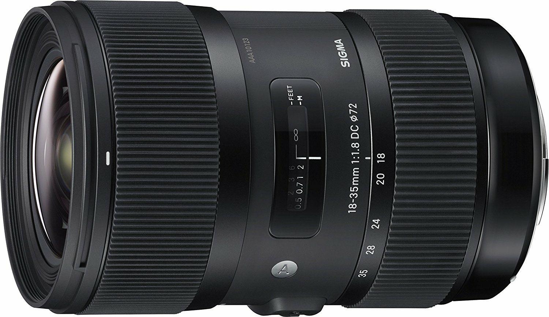 Sigma 18-35mm f1.8 DC HSM Art (Canon EF) für 599.04€ (Amazon.fr)