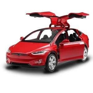 Tesla SUV Car Model   1:32  rot