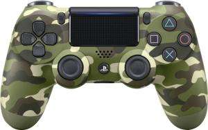 Sony PlayStation 4 DualShock 4 Wireless Controller V2 (Camouflage & Silber & Blue Camouflage) an 34,99€ € (Amazon FR & Cdiscount​)