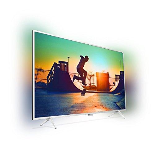 Philips 32PFS6402/12 80 cm (32 Zoll) Fernseher (Full-HD, Triple Tuner, Smart TV) silber [Energieklasse A] Amazon WHD