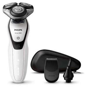 [ebay / Philips] PHILIPS Nass-und Trockenrasierer Shaver Series 5000 S5651/45 Fan-Edition (neu, Verpackungsmängel)