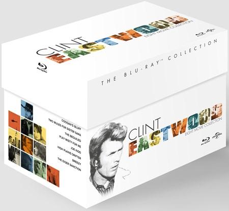 [zoom.uk Black Friday] Clint Eastwood - The Blu-ray Collection (7 der 8 Filme haben eine dt. Tonspur) für 15,22 €