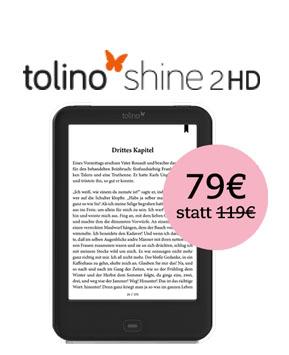 Tolino Shine 2 HD für 79 Euro bei Thalia