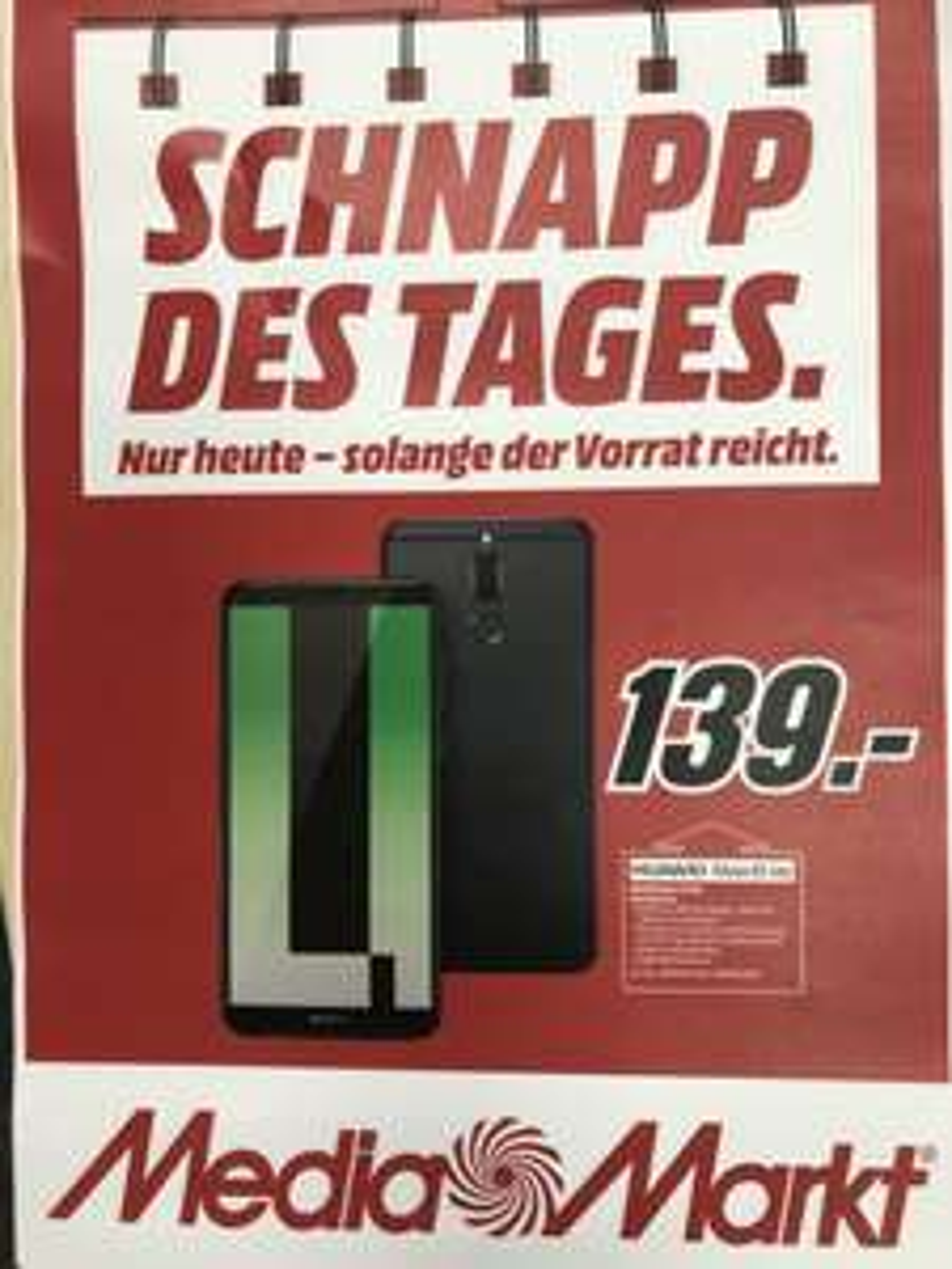 (lokal MediaMarkt Köln Chorweiler)  Huawei Mate 10 Lite 139€