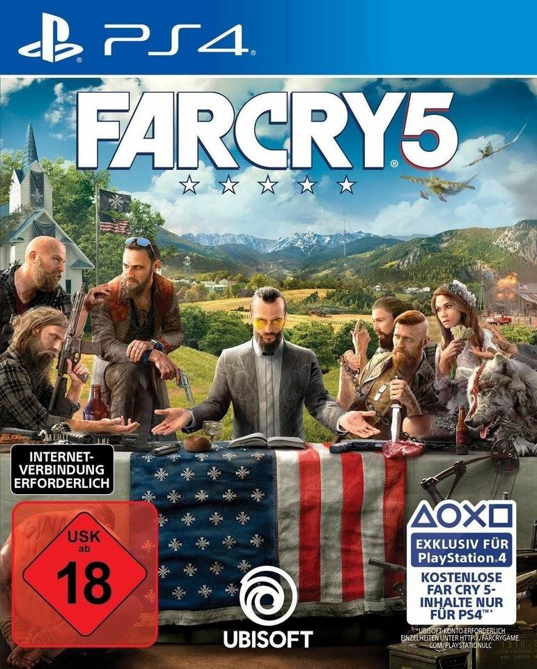 Far Cry 5 (PS4 / XBO) + Rayman Legends für 31,99€ [Ubisoft]