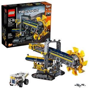 "Toys""R""Us BlackPrices Lego Technic 42055 Schaufelradbagger inkl. Power Functions-Motor für 154,98"