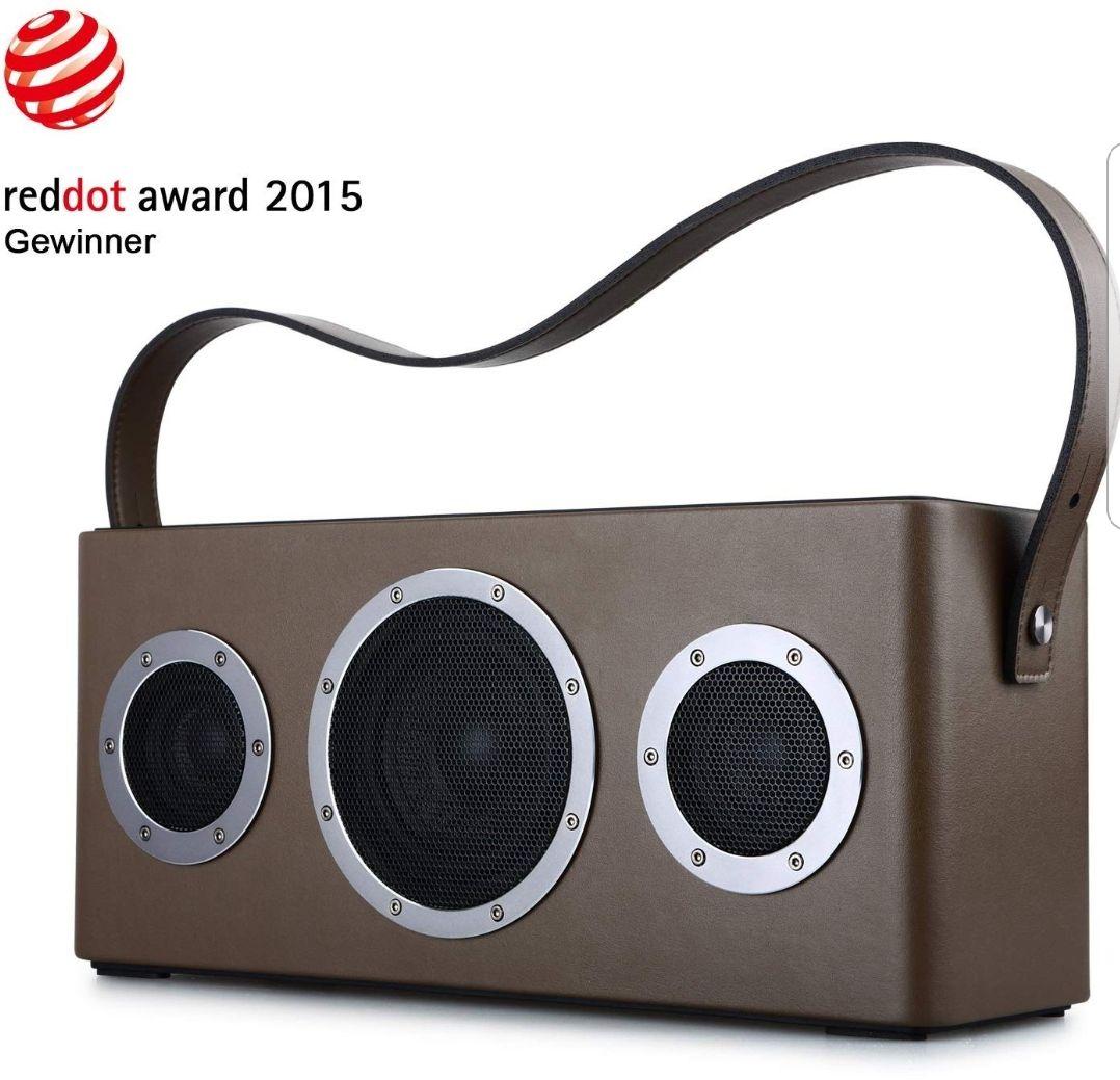 [Amazon] GGMM M4 Multiroom-Lautsprecher, tragbar, WiFi/Bluetooth/AUX, 2.1,40W, Mfi-verifiziert, Airplay, DLNA, Spotify