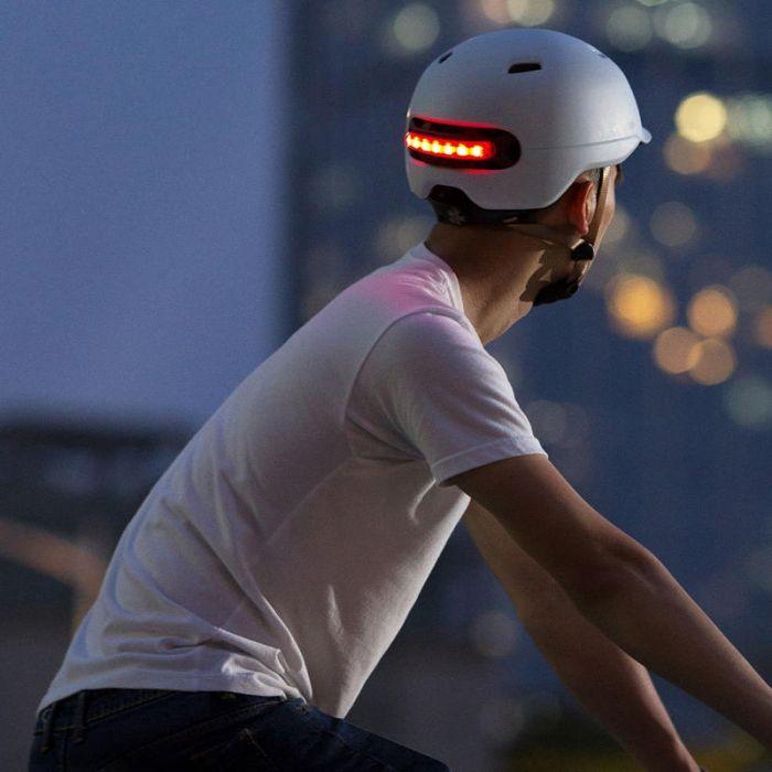 Youpin Smart4U SH50 Fahrradhelm mit Licht in 4 versch. Farben (Gr. M & L)