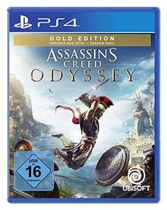 Assassin's Creed Odyssey - Gold Edition (inkl. Season Pass) für die Playstation 4 [Amazon]