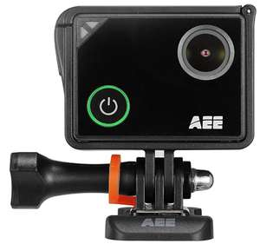 [Voelkner] AEE Lyfe Silver Action Cam 4K, WLAN, Touch-Screen