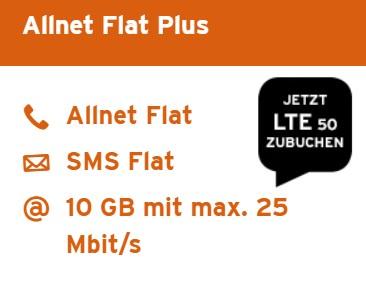 Congstar Black Friday Angebot 2018: Allnet Flat Plus für 20€ (10GB Datenvolumen, Allnet Flat, SMS Flat) *UPDATE* Homesport XL für 26,25€ im Monat