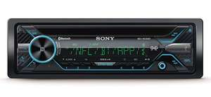 Sony MEX-N5200BT Autoradio mit Dual Bluetooth (CD-Player, NFC, 2x Bluetooth, USB/AUX, Apple iPod/iPhone Control, 4x 55 Watt,) schwarz