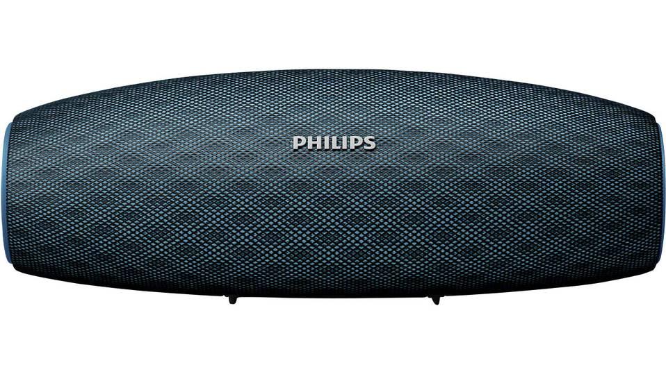 [Digitalo] Philips BT7900 Bluetooth® Lautsprecher AUX, Outdoor, Wasserfest, Staubfest Blau