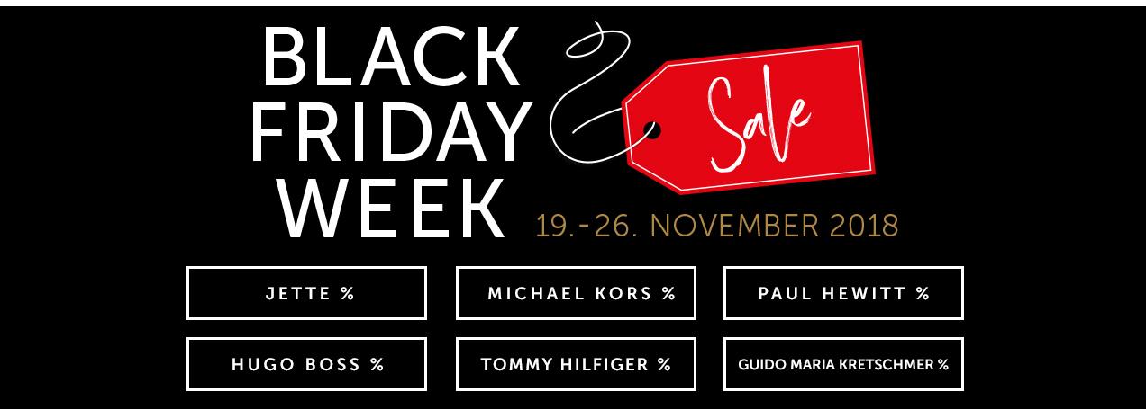 Black Friday bei Christ mit bis -70% auf Uhren und Schmuck
