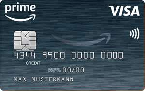 Amazon.de Prime VISA Karte mit 70€ Startgutschrift