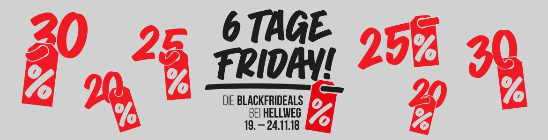 Black Friday Woche vom 19.11.-24.11. bei HELLWEG (s.Text)