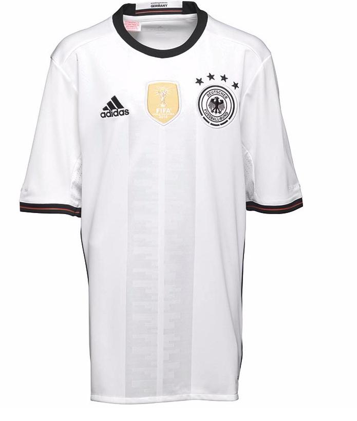 adidas Jungen DFB Germany Home Fußball Trikot Weiß (Gr. 128 - 176)
