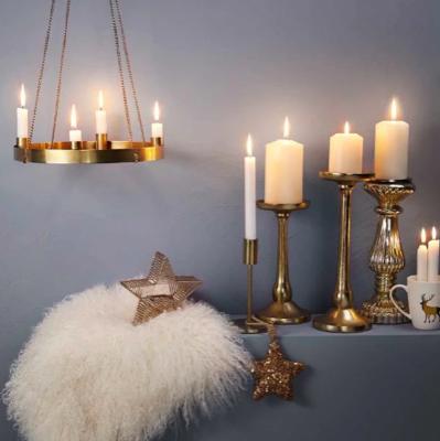 15% Rabatt auf Adventskränze & Kerzen bei Butlers, z.B. Adventskranz mit Kette aus Eisen