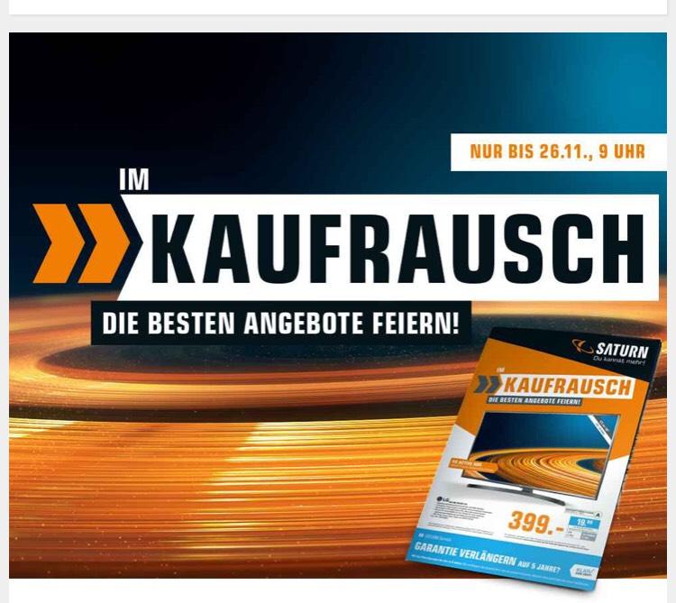 Kostenlose Lieferung von allen Haushaltsgroßgeräten, Einbaugeräten & Fernsehern ab 43 Zoll bei Saturn [Black Week/Saturn.de