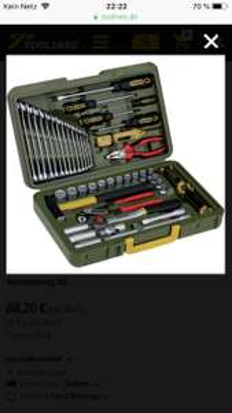 Werkzeugkoffer Proxxon 23650