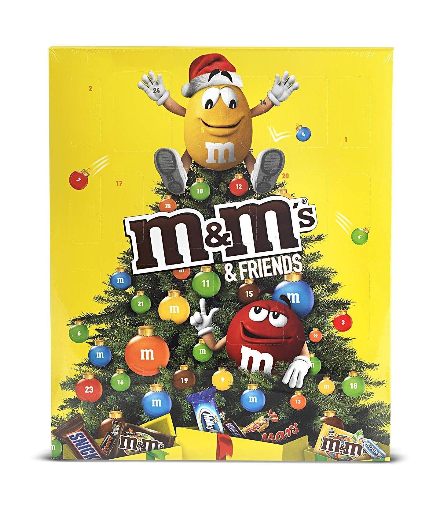 Weihnachtliche Adventskalender bis zu 38% Reduziert! Angebot des Tages bei Amazon Prime! M&Ms, Lindt Hello, Nestlé, Smarties, Teekanne usw.