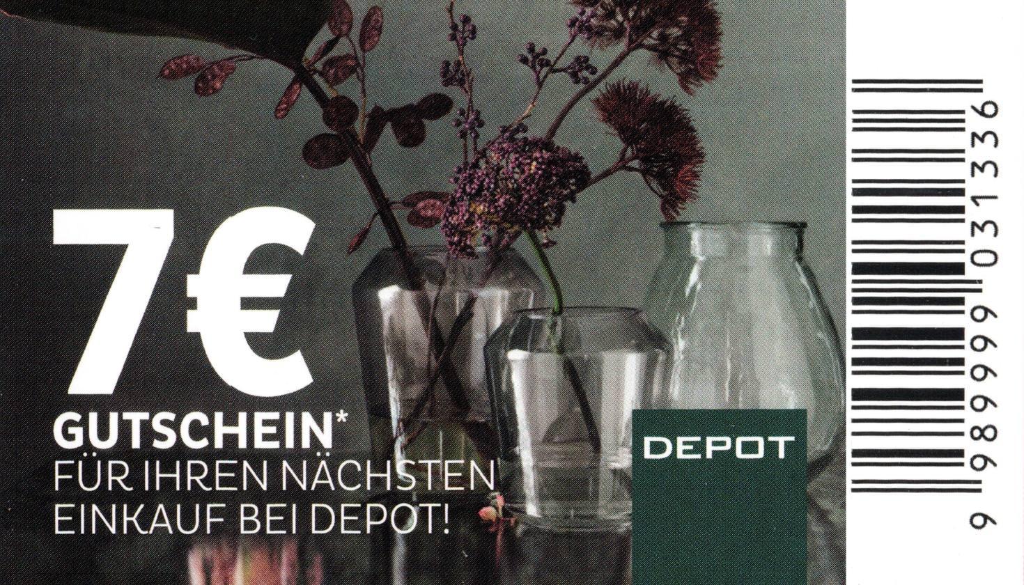 [Depot] 7,00€ Depot Gutschein als Entschädigung für Lieferengpass [Rocher Aktion]