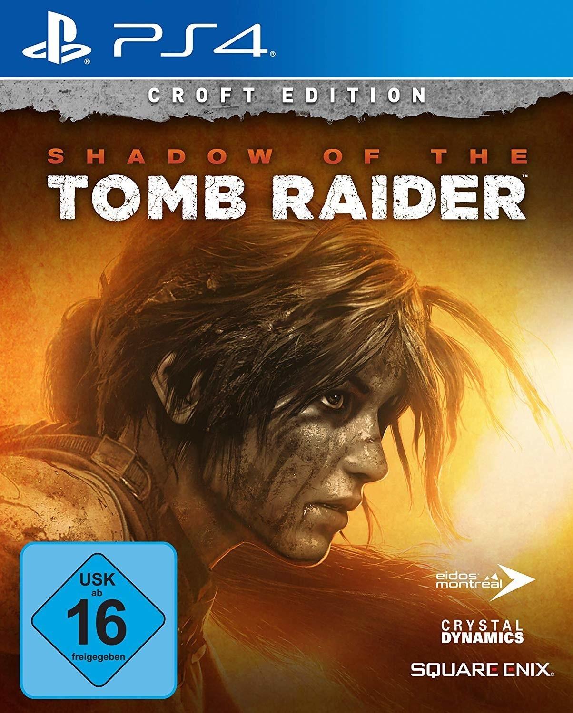 Shadow of the Tomb Raider Croft Edition (PS4 & Xbox One) für 39,99€ & Shadow of the Tomb Raider (PS4 & Xbox One) für 28€ (Shopto & Gamestop)